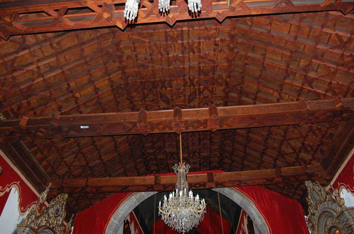 Artesonado del techo