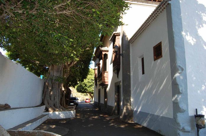 Parte posterior del Santuario.