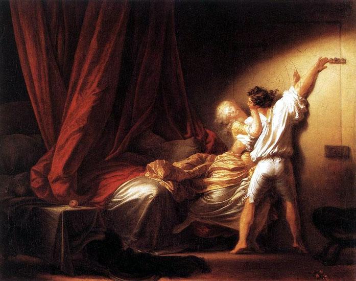Fragonard, Le Verrou, 1776.