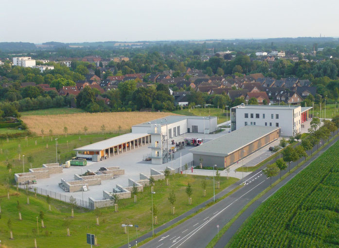 Fotografie aus dem Heißluftballon: Thomas Kuhlmann, Neukirchen-Vluyn