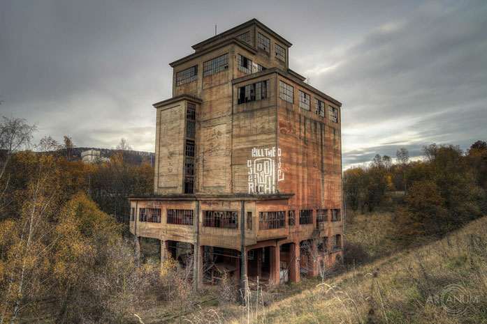 Abandoned Iron Ore Loading Silo