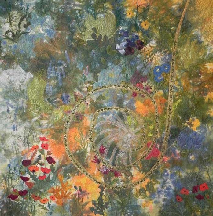 Ein Fest (2015) | 70 x 70 cm