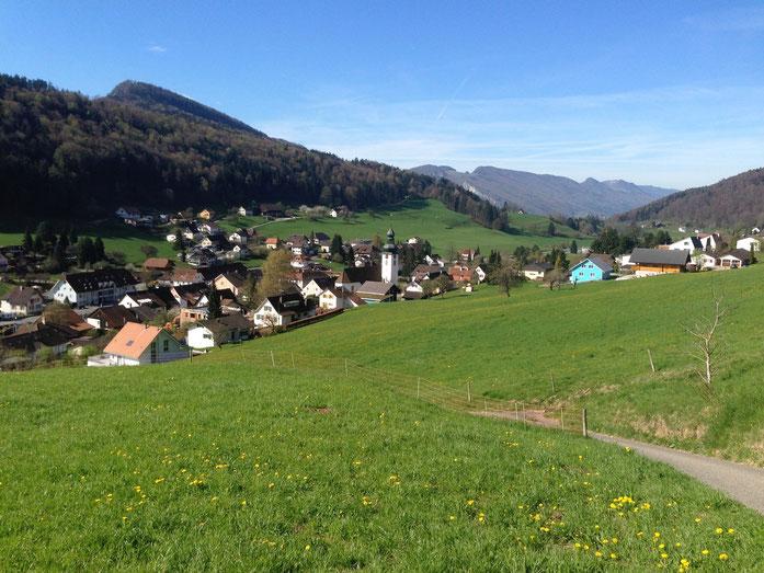 Holderbank liegt in einer Talmulde zwischen der ersten und zweiten Jurabergkette (Rogg.Das Gemeindegebiet umfasst eine Fläche von 779 Hektaren, davon entfallen 48 % auf Wald und Gehölze, 46 % auf landwirtschaftliche Nutzfläche und 5 % auf Siedlungsfläche.
