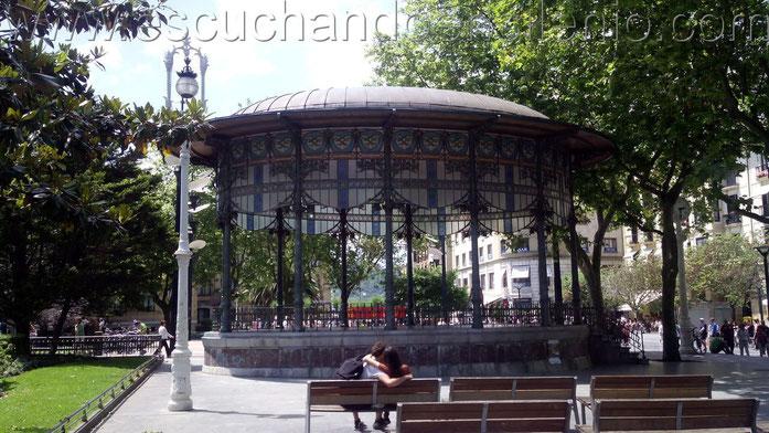 kiosco del Boulevard donostiarra - Foto: Olga Iribarren