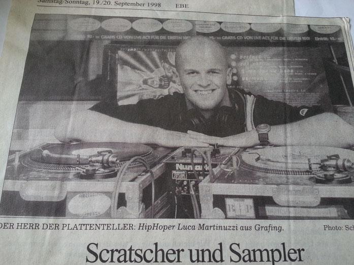 DJ Luvsick Interview 1 (Sueddeutsche Zeitung)