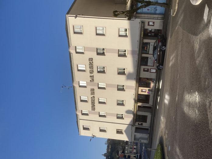 Hôtel de la gare Bar le Duc  Meuse Lorraine