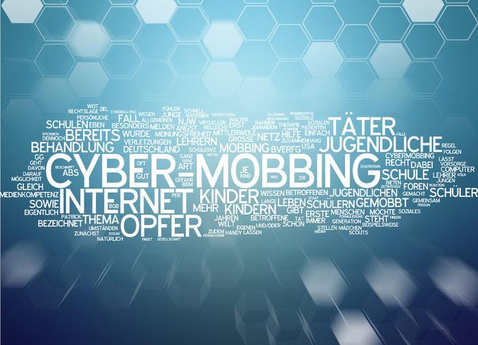 Stichworttafel zum Thema Mobbing im Internet; Kurtz Detektei Hamburg