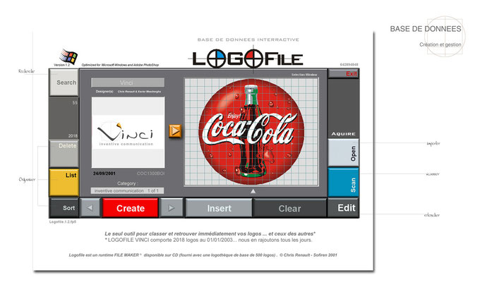 LOGOFILE (Gestion de logo) © Chris Renault 2001