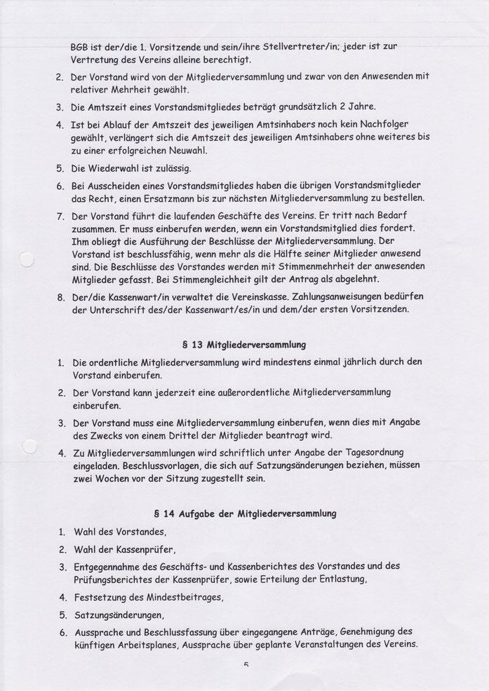 Satzung - Förderverein für Kinder und Jugendarbeit Börger e.V.