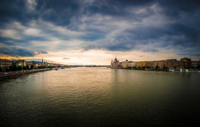 Budapest, Unwetterstimmung