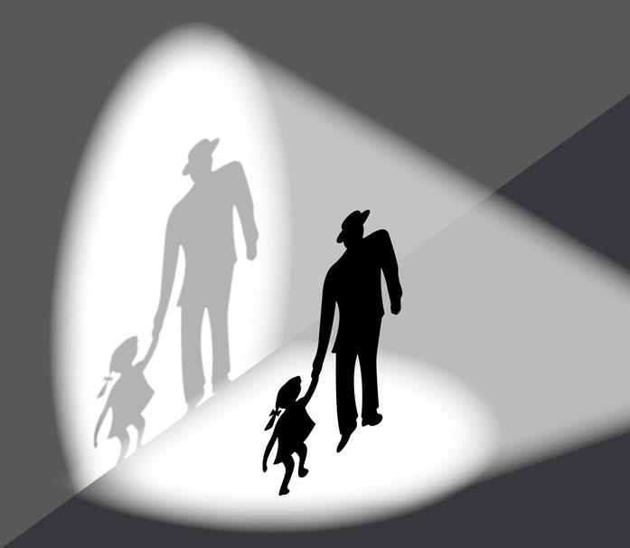 Kindesentführung, Schattenbild; Kurtz Detektei Köln