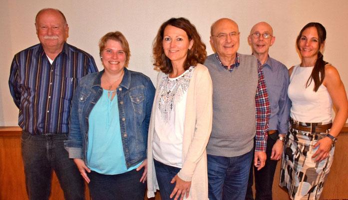 Der neue Vorstand der Freien Demokraten in Quickborn: Klaus-Georg Hensel, Ines Glatthor, Friederike Rübhausen, Horst Stahl, Robert Chyla und Annabell Krämer (v.l.)