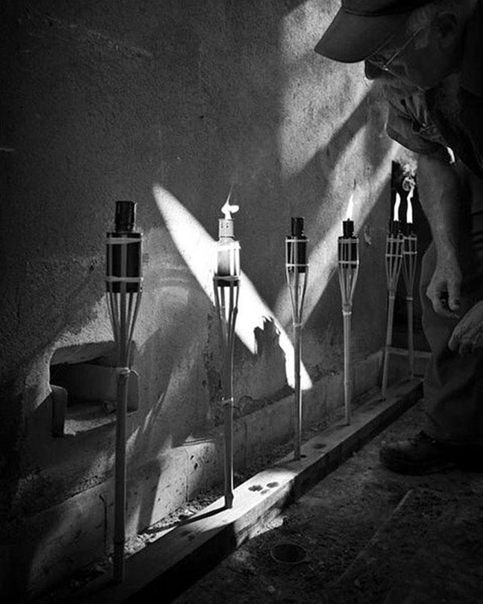 Pedro Meier – ArtCampus – Licht der Götter – Minotaurus- Zeus Tagebuch Projekt – Solothurn Attisholz. Photo Mike Wolff Leica Basel Surface 2016 Archiv Pedro Meier/ProLitteris Zürich Multimedia Artist, Gerhard Meier-Weg Niederbipp Bern Oberaargau – Bangkok