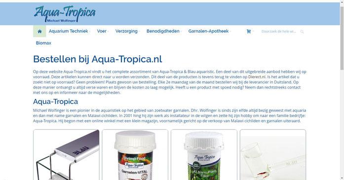 Aqua-Tropica in den Niederlande