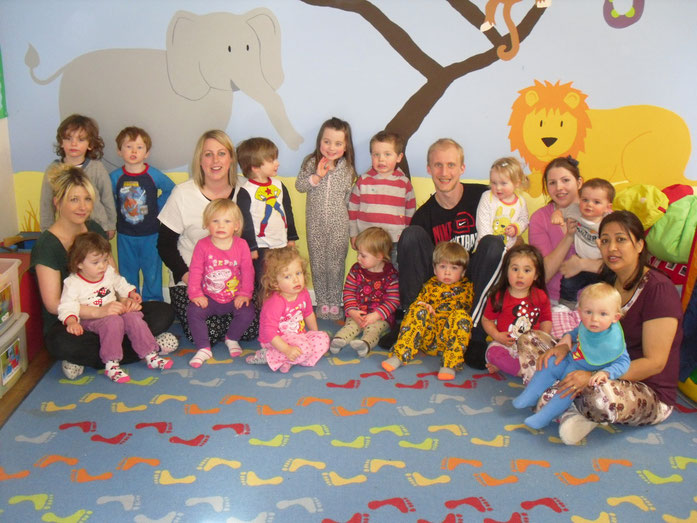 Sponsored Pyjama Day in aid of Air Ambulance - April 2013