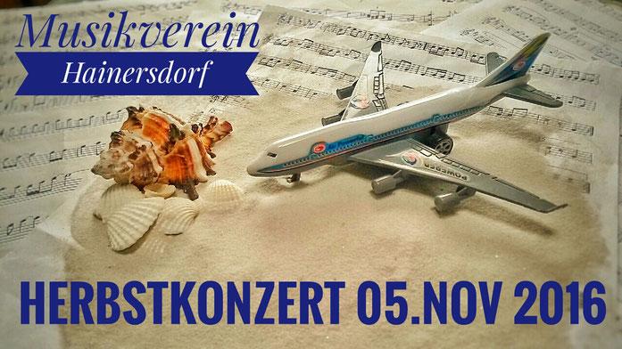 Vorankündigung Herbstkonzert Hainersdorf 2016