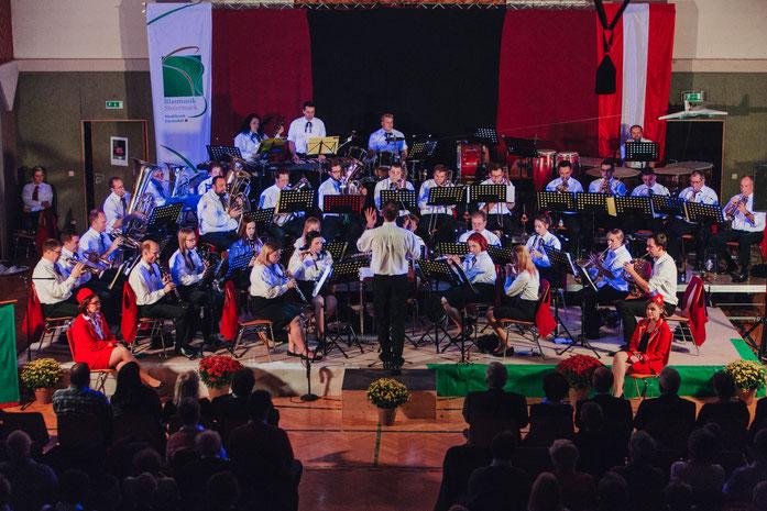 Musikerinnen und Musiker beim Herbstkonzert 2016