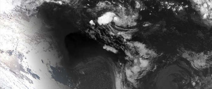 Satellite image showing Tropical Cyclone Owen over the Gulf of Carpetaria (0730 12 December 2018) from www.bom.gov.au