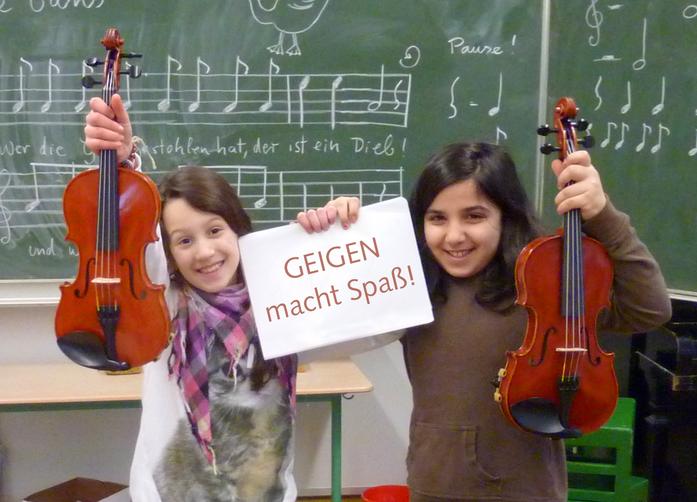 Geigen macht Spaß