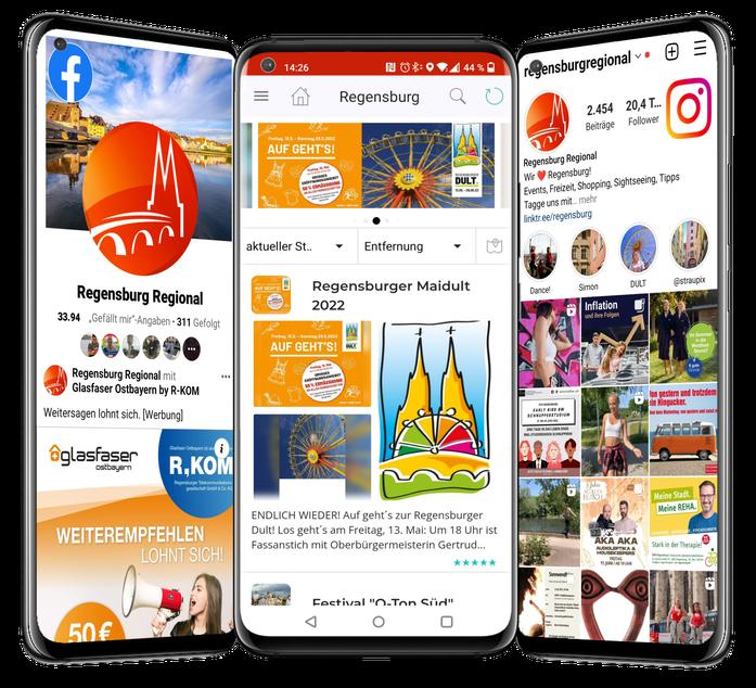 Unipush Regio-App: Standort- und Citymarketing