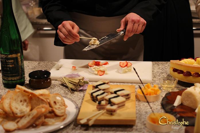 Le brillat-savarin vanille-fraise a connu un franc succès !