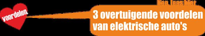 Nee. lees hier: 3 overtuigende voordelen van elektrische auto's