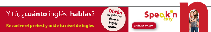 Curso de inglés Speak'n easy