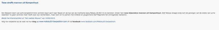Kampenhout info Maart 2015
