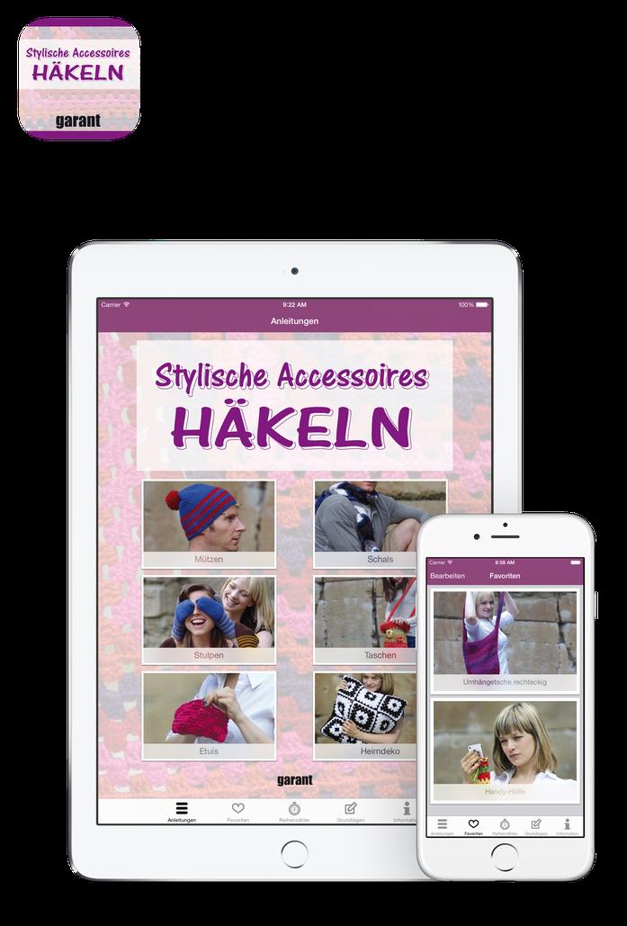 Häkeln: Stylische Accessoires App Screenshot
