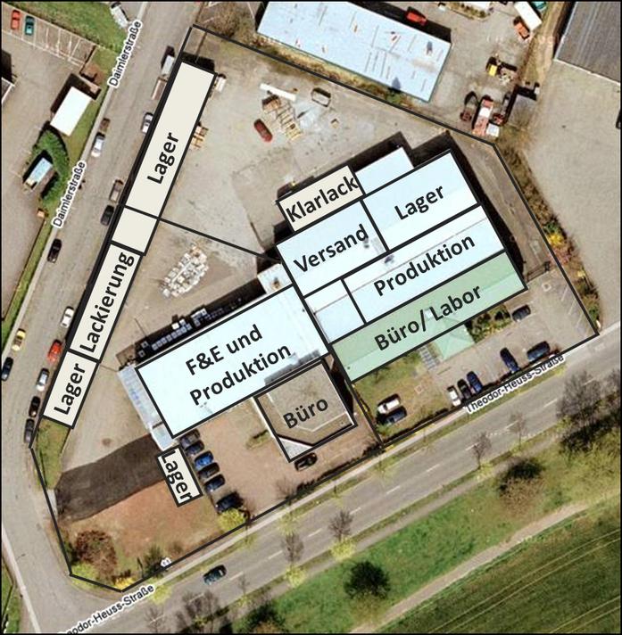 Luftbildaufnahme der NANO-X
