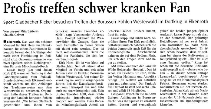 Westerwälder Zeitung vom 30.03.2013
