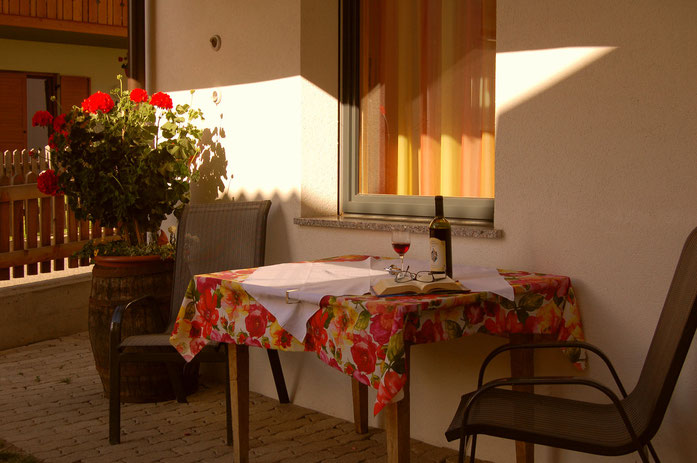 Wohnung Fermeda, kleiner Vorgarten, für 2-5 Personen
