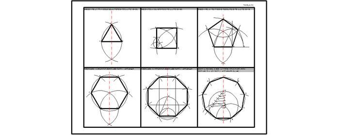 Tav 4 poligoni regolari dato il lato benvenuti su for Costruzione ottagono dato il lato