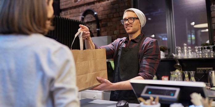 Funzione ritiro di persona per lo shop online