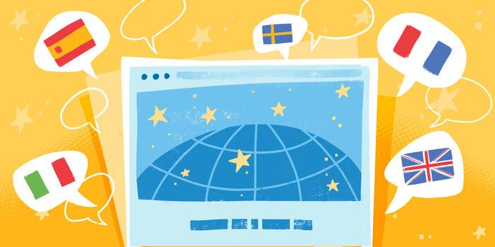 Crea un sito multilingua in modo semplice grazie al Weglot widget!