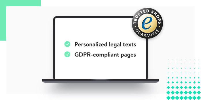 Collaborazione Jimdo e Trusted Shops: generazione automatica di testi legali conformi al RGPD