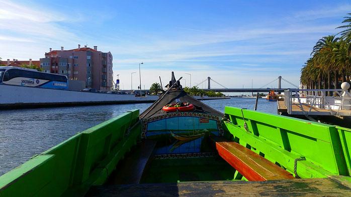 Aveiro, moliceiros, Gondeln, Venedig Portugals