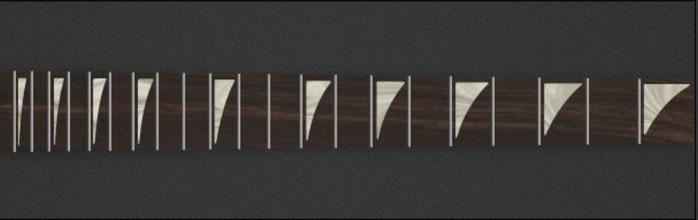 Sharkfin - White Pearloid