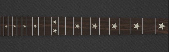 Star - White Pearloid