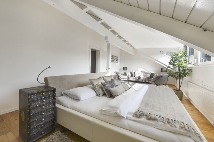 Home Staging bewohnte Immobilie Einfamilienhaus Ennetmoos Stans