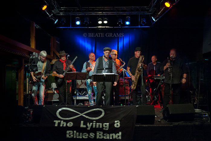 KIELER BLUES NACHT 24.09.2016 - THE LYING EIGHT BLUES BAND