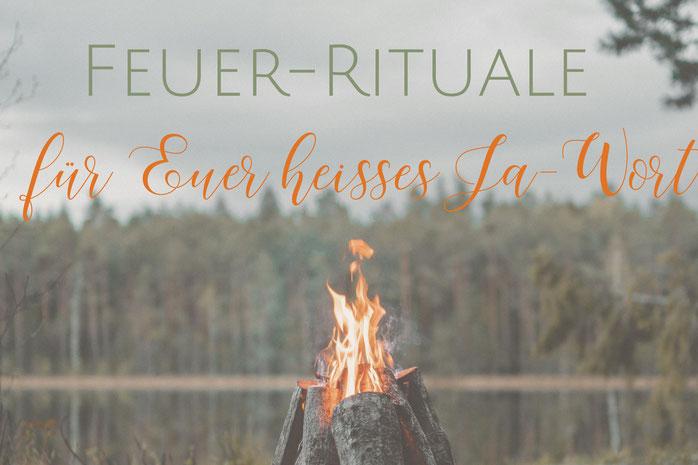 Trauredner-Tipp: Feuerrituale heizen Eurem Ja-Wort ein - Rituale für die Freie Trauung
