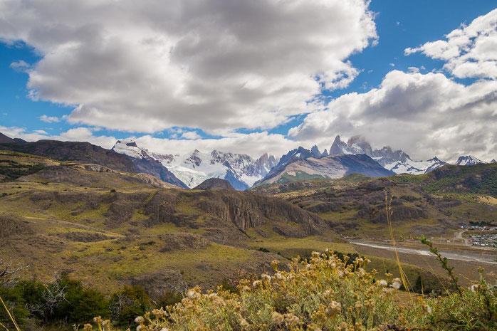 Aussichtspunkt de los Condores, Fitz Roy und Cerro Torre, Patagonien