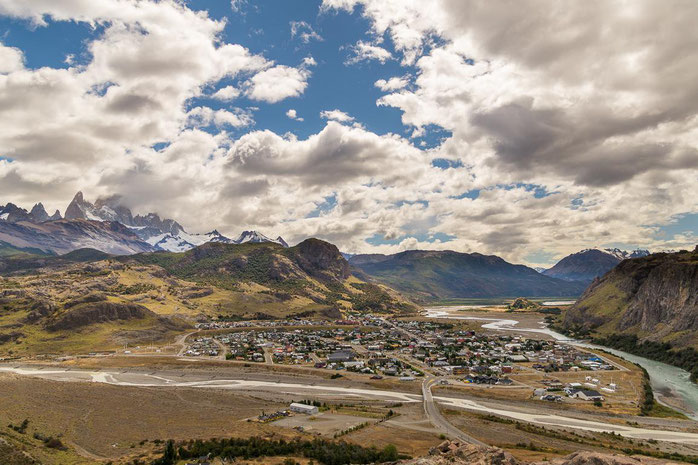 Aussichtpunkt El Chaltén mit Fitz Roy, Patagonien