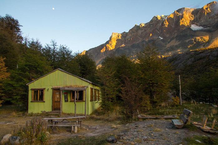 Refugio Piedra del Fraile, Patagonien