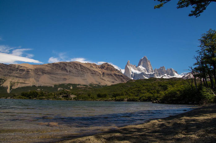 Laguna Capri und Fitz Roy, Patagonien