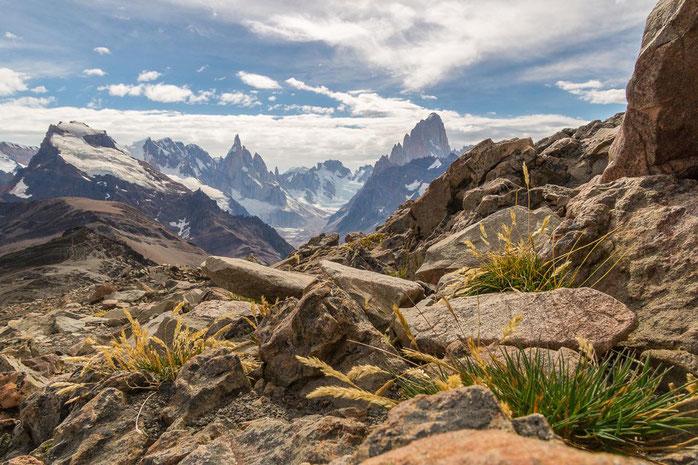 Loma del Pliegue Tumbado, Patagonien