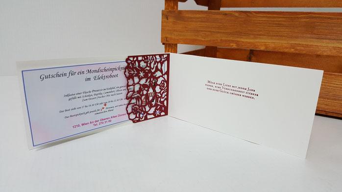 Karte, Anlass, Glückwunschkarte, Hochzeit, Gutschein, Einstecktasche, Florale Grüße, Stampin Up, Stempelkiste