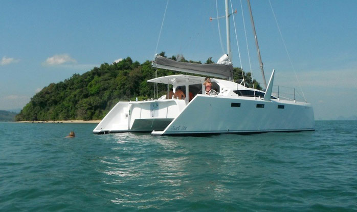 Barefoot 40 cruising catamaran
