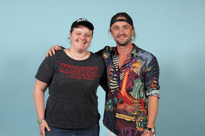 A photo op with Tom Felton